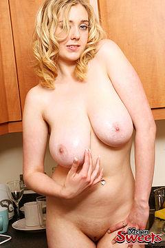 british sapphire blonde Busty