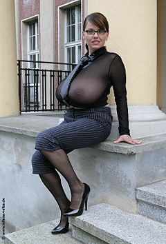 tight blouse in Boobs in