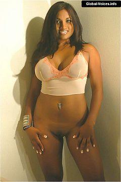 Beautiful brown boobs