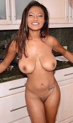 Huge boobs shower