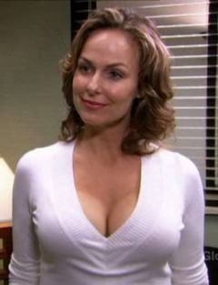 "Jan Levinson in The Office's episode ""The Job"" (2007)"