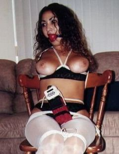 Think only! gloria reyes in bondage
