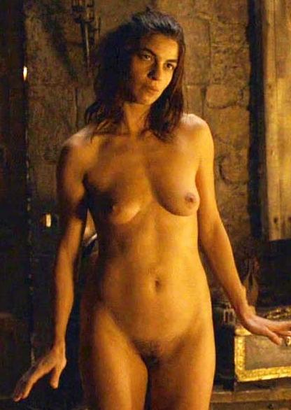 Natalia Tena Breasts, Bush Scene In Game Of Thrones