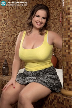 Hayley marie strips from a tight dress curvy big tits