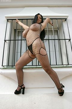 Horny large mature woman