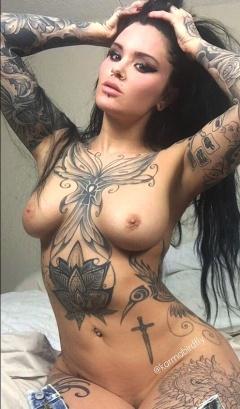 karma bird naked
