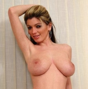 Linda may huge boobs