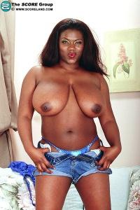 Ebony porn actress