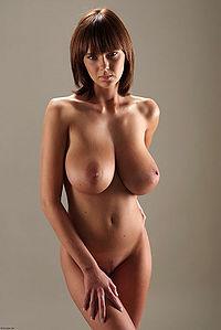 big tits nude Gabrielle