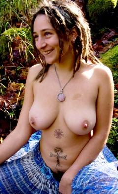 Hippie goddess big tits business