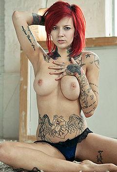big tit suicide girl