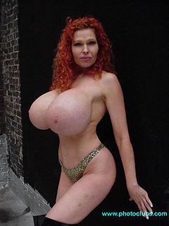Big old fat tits suck