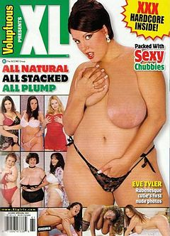 Eve Tyler as the covergirl of Score Group's XL Girls