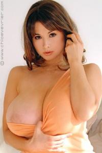 Danni ashe orange bikini for the big boobs lovers - 2 part 2