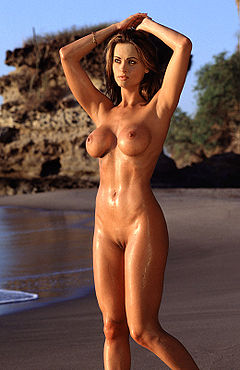 Karen mcdougal beach.jpg