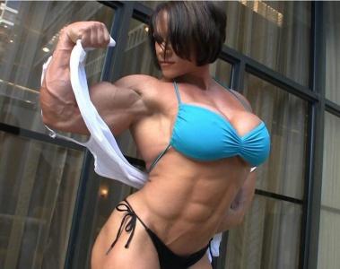 Really. was bodybuilder girls big tits