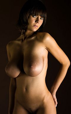 Beautiful sexy naked boobs