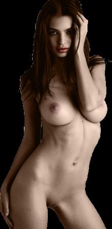 big size nackt model